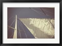 Framed Sailing a Line