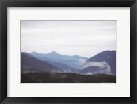 Framed Blue Hills & Fog