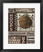 Framed Basketball Hoops