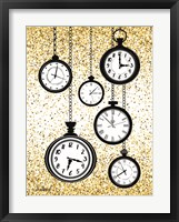 Framed Glitter Watches