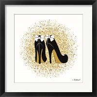 Framed Glitter Heels