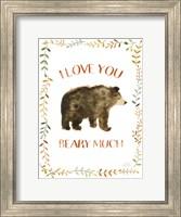 Framed Woodland Whimsy VII