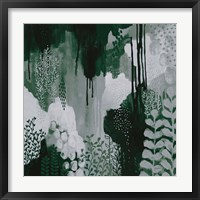 Framed Green Forest I