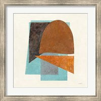 Framed Quintet II Turquoise