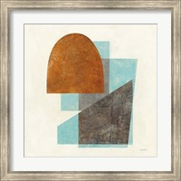 Framed Quintet I Turquoise