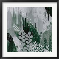 Framed Green Forest II