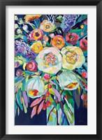Framed Lilys Bouquet