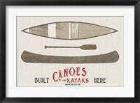 Framed Cabin Life VII Kayak