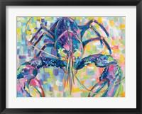 Framed Lilly Lobster II