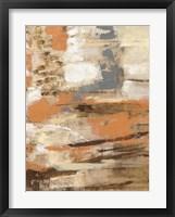 Framed Copper and Wood III