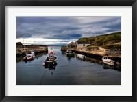 Framed Fishing Harbor