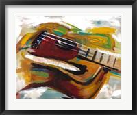 Framed Colorful Guitar