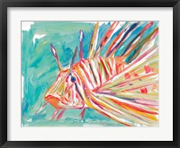Framed Colorful Fish