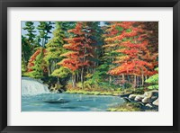 Framed Running River II