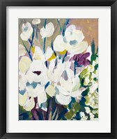 Framed Painting of Orchids