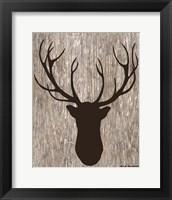 Framed Wilderness Deer