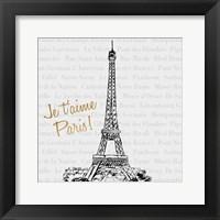 Travel Pack II Framed Print