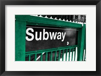 Framed Subway