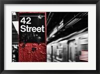 Framed 42nd St.