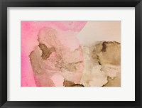 Framed Pink Watercolor