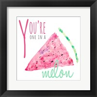 Framed You're One in a Melon