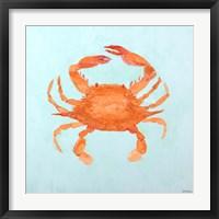 Framed Orange Claw Buddies II