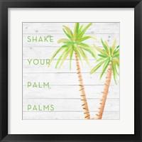 Framed Shake Your Palm Palms