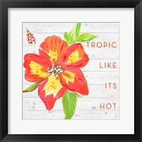 Framed Tropic Like It's Hot