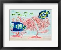 Framed Coral Reef II