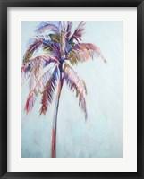 Framed Colorful Palm Tree II