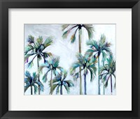 Framed Palms after Sunset