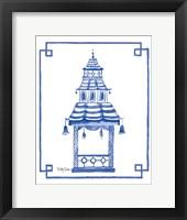 Framed Pagoda I