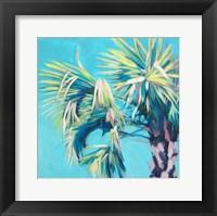 Framed California Bright Palms I