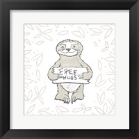 Framed Animal Hugs I