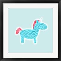 Framed Unicorn Love