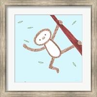Framed Monkey Love
