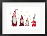 Framed Gnome Family