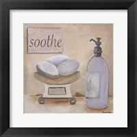 Framed Lavender Bath II