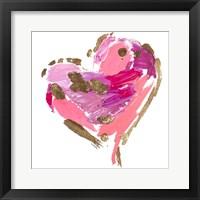 Framed Heart Full of Love I