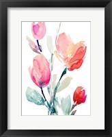 Framed Happy Tulips II