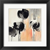 Framed Blushing Tulips II