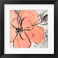Framed Cafe Rose II