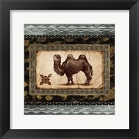 Framed African Expression Square I