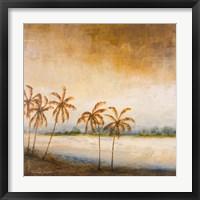 Framed Coastal Romance I