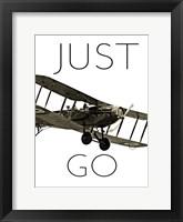 Framed Vintage Airplanes I
