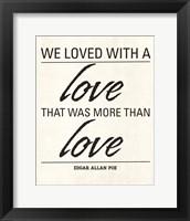 Framed We Loved