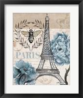 Framed Paris Bee I