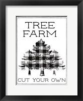 Framed Tree Farm Buffalo Plaid