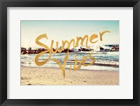 Framed Summer Vibes