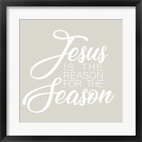 Framed Jesus is the Reason for the Season